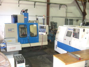CNC Lathe and Mill